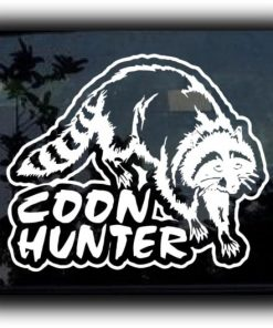 Coon Hunter Decal Sticker II