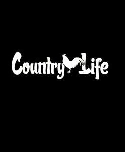 Country Life Window Decals