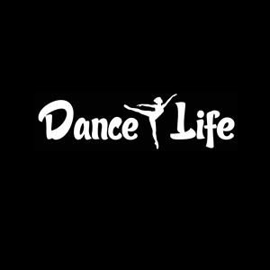 Dance Life Window Decal Sticker a1