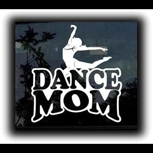 Dance Mom Car Decal Stickers
