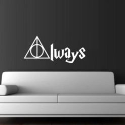 Harry Potter Always Wall Decal Sticker - https://customstickershop.us/product-category/stickers-for-cars/