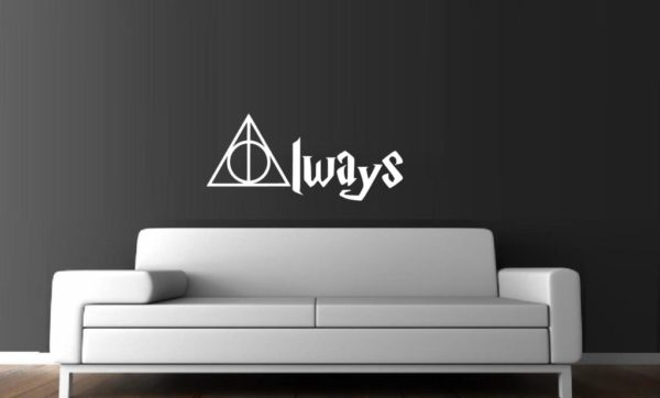 harry potter always wall window decal sticker – custom sticker shop