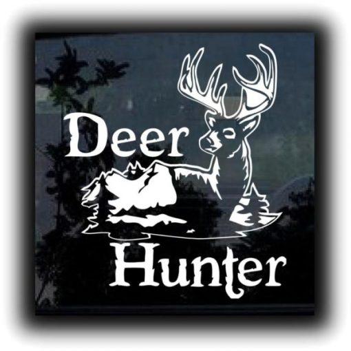 Deer Hunter Hunting Scene Decal