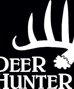 Deer Hunter Shed Decal Sticker
