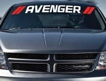 Dodge Avenger Windshield Decal - https://customstickershop.us/product-category/windshield-decals/