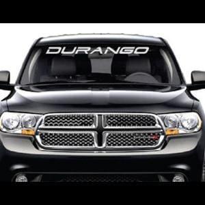 Dodge Durango Windshield Decals - https://customstickershop.us/product-category/windshield-decals/