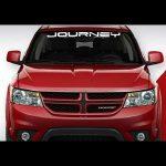 Dodge Journey Windshield Banner Decal Sticker A8