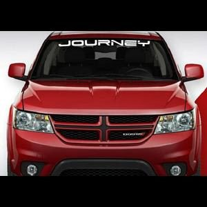 Dodge Journey Windshield Decals - https://customstickershop.us/product-category/windshield-decals/