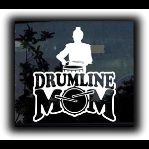 Drumline Mom Car Window Decal