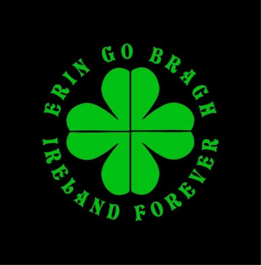 Erin Go Bragh Ireland Window Decal