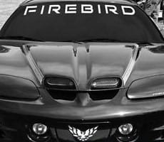 Pontiac Firebird Windshield Decal - https://customstickershop.us/product-category/windshield-decals/