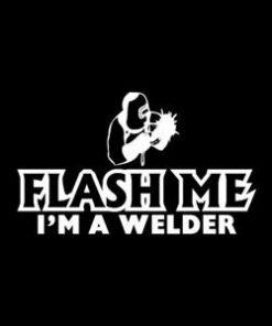 Flash Me Welding Stickers