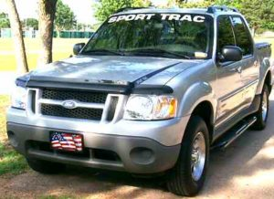 Ford Explorer sport track Windshield Decal - https://customstickershop.us/product-category/windshield-decals/