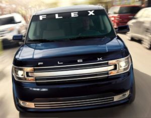 Ford Flex Windshield Decal - https://customstickershop.us/product-category/windshield-decals/