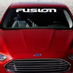 Ford Fusion Windshield Banner Decal Sticker