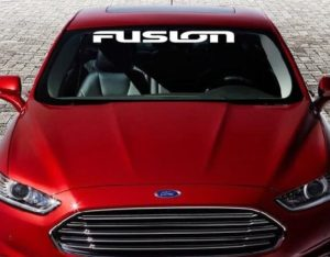 Ford Fusion Windshield Decal - https://customstickershop.us/product-category/windshield-decals/