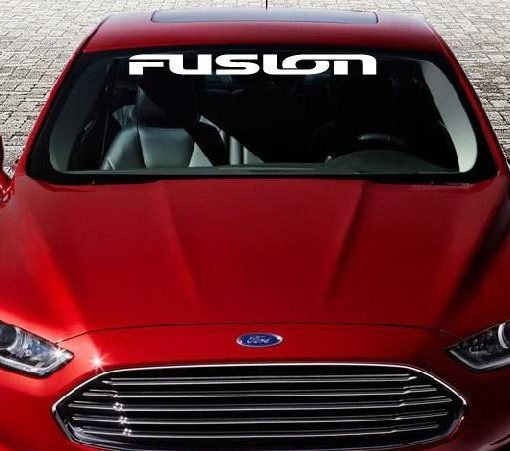 Ford Fusion Windshield Decal - http://customstickershop.us/product-category