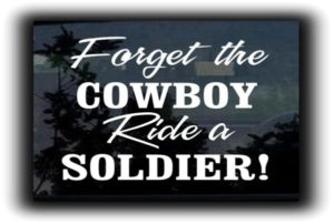Ride a Soldier Decal Sticker