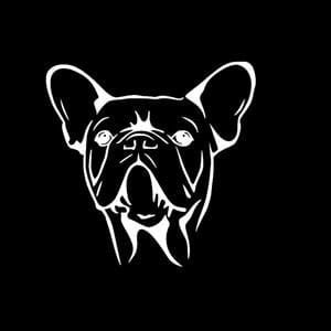 French Bulldog Window Decals