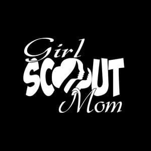 Girl Scout Mom Window Decal