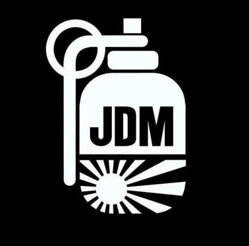 Sun Flag Grenade JDM Stickers - https://customstickershop.us/product-category/jdm-stickers/
