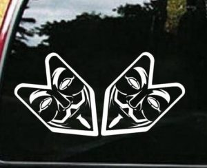 Fawkes Guy Arrow JDM Stickers - https://customstickershop.us/product-category/jdm-stickers/