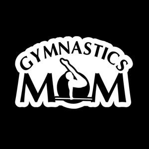Gymnastics Mom Window Decal a3