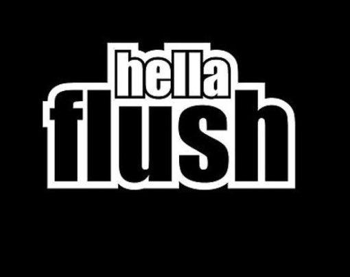 Hella Flush JDM Stickers - https://customstickershop.us/product-category/jdm-stickers/