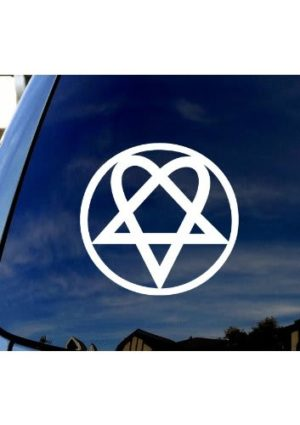 Him Rock Band Decal Sticker - https://customstickershop.us/product-category/stickers-for-cars/