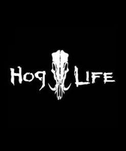 Hog Life Window Decal Sticker