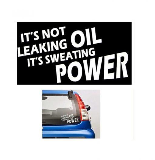 Not Leaking Oil JDM Stickers - https://customstickershop.us/product-category/jdm-stickers/