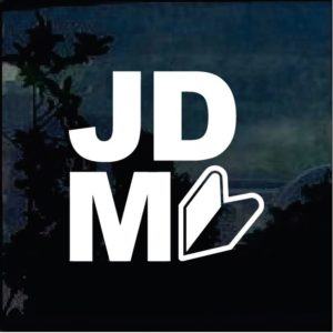 jdm arrow logo decal sticker