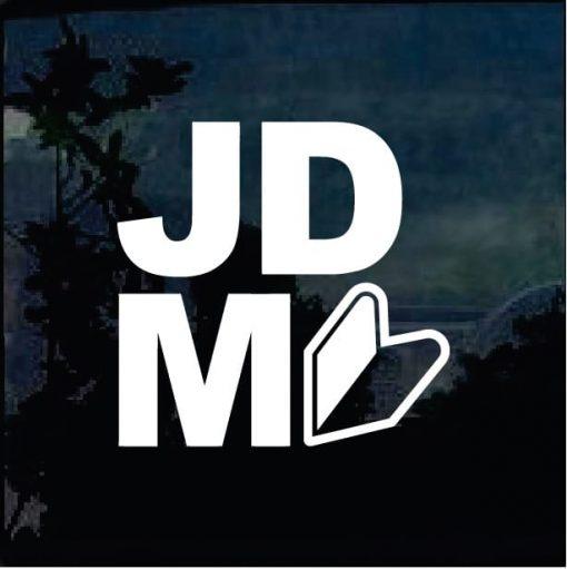 jdm arrow logo decal sticker