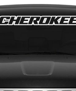 Jeep Cherokee Windshield Decal - https://customstickershop.us/product-category/windshield-decals/