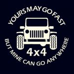 Jeep Go Anywhere Jeep Decal Stickers