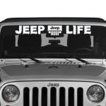 Jeep Life Vinly Jeep Decal Stickers