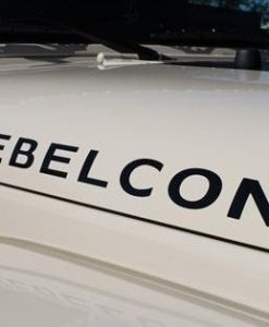 Jeep Rebelcon Hood Decal Set - //customstickershop.us/product-category/truck-decals/