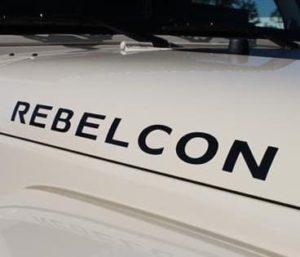 Jeep Rebelcon Hood Decal Set - https://customstickershop.us/product-category/truck-decals/