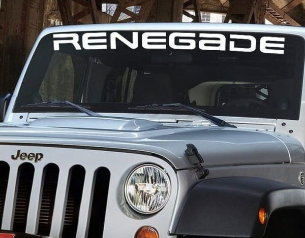 Jeep Renegade Windshield Decal -  http://customstickershop.us/product-category