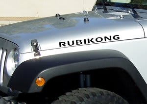 Jeep Rubikong Hood Decal Set - https://customstickershop.us/product-category/truck-decals/