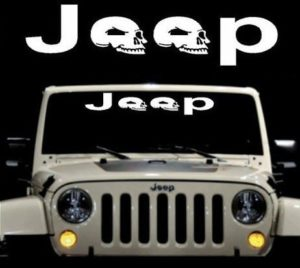 Jeep Skulls Windshield Decal - https://customstickershop.us/product-category/windshield-decals/