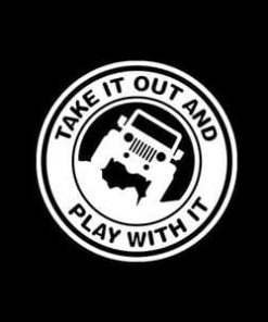 Jeep Decal Play With It