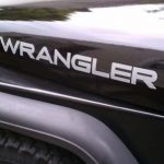 Jeep Wrangler Hood II Set of 2 Jeep Decal Stickers