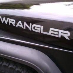 Jeep Wrangler Hood Decal Set II - https://customstickershop.us/product-category/truck-decals/