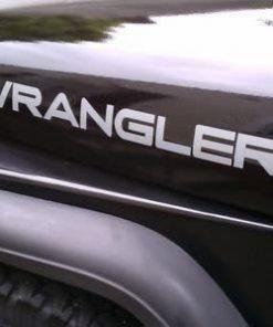 Jeep Wrangler Hood Decal Set II - https://customstickershop.us/product-category/truck-decals/
