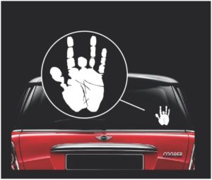 jerry garcia band window decal sticker