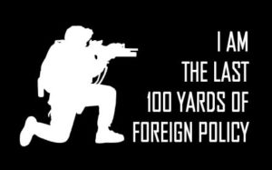 Foreign Policy Funny Decal Sticker