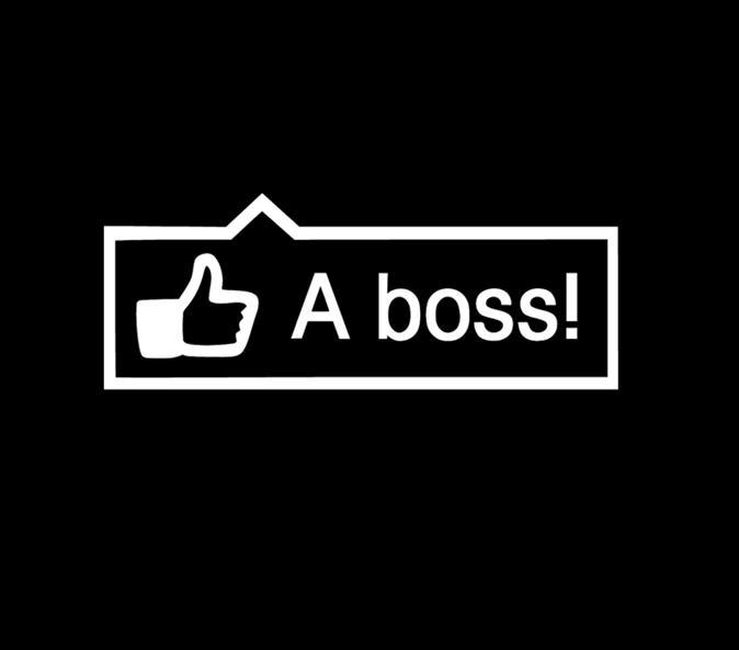 Like a Boss 2 JDM Stickers - https://customstickershop.us/product-category/jdm-stickers/