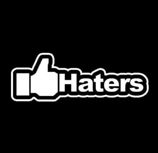 Like Haters JDM Stickers - https://customstickershop.us/product-category/jdm-stickers/