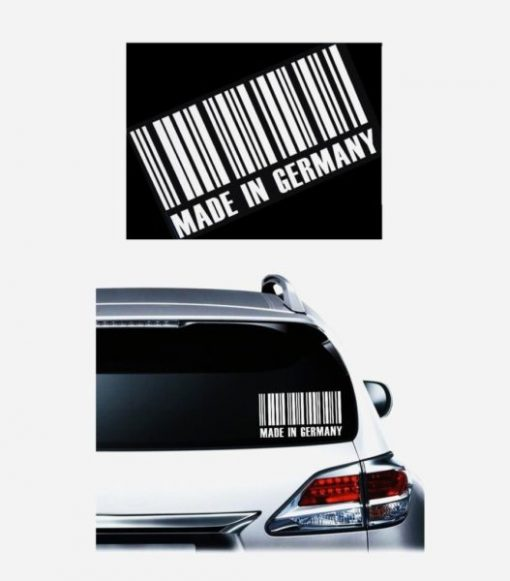 Made In Germany Code JDM Stickers - https://customstickershop.us/product-category/jdm-stickers/